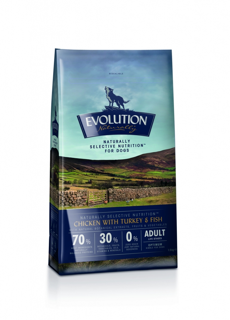 Evolution Naturally Dog Food Puppy