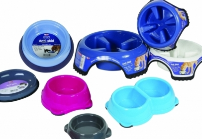 Animal Instincts Feeding Bowls, Non-slip and Slow Feed options for Speedy Eaters