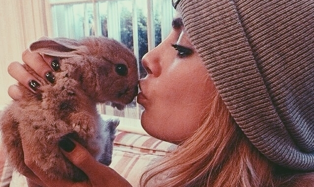 Model Cara Delevingne Launches New Campaign To Show Pets Are Not Just For Christmas
