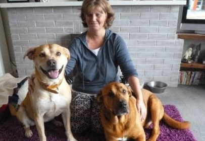 Ferne Animal Sanctuary Unite Two Unwanted Depressed Dogs and an Animal Lover At a Loss