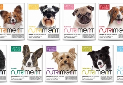 Nutriment to Launch Dinner For Dogs, Raw Food Recipes for Smaller Dogs, in Feb 2015