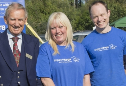 Burns Pet Nutrition Teams Up With Support Dogs