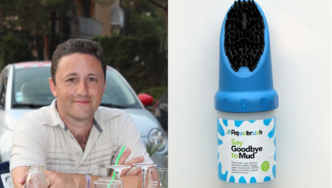 Recession Scarred Business Man Launches the Aquabrush and New Lease of Life!