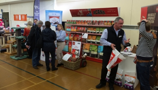 Bern Pet Foods Receive Great Reception at National Cat Club Show